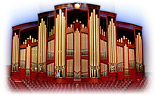 LDS Conference Center Organ Facade